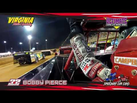 #32 Bobby Pierce - Heat & Feature - Super Late Model - 4-14-18 Virginia Motor Speedway
