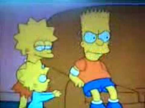 Bart ouch quit it