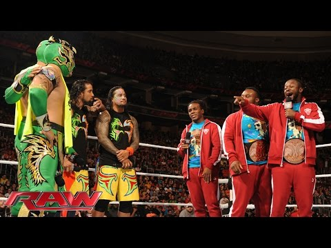 The New Day extends an olive branch: Raw, December 14, 2015