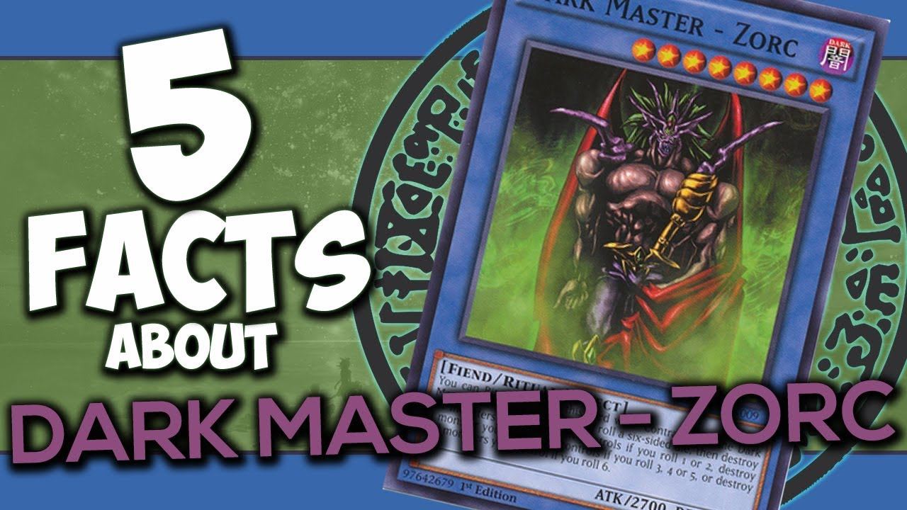 5 Facts About Dark Master – Zorc – YU-GI-OH! Facts & Trivia