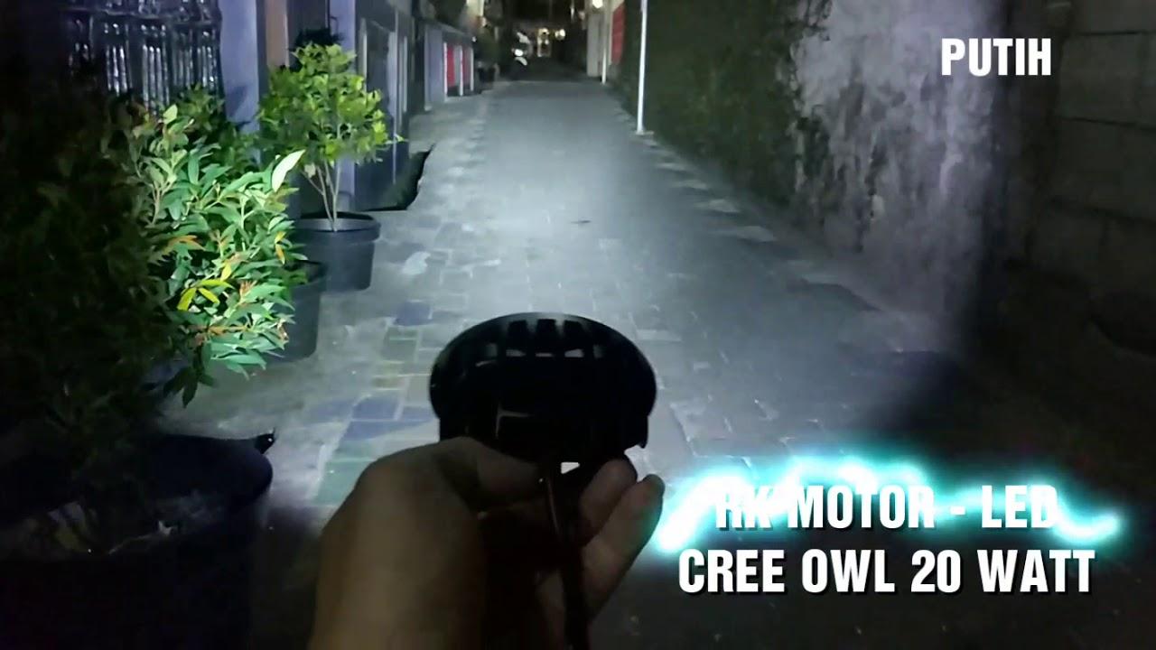 LED OUTDOOR CREE OWL 20 WATT PUTIH