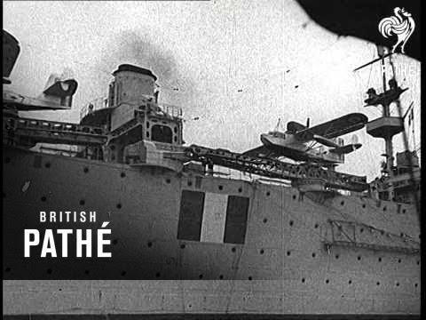 French Fleet On Manoeuvres (1939)