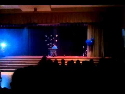 Julien at.Eddystone Elementary School talent show