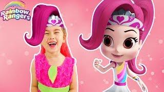 Rainbow Rangers   Funny videos for kids   Cartoons on Nik jr    Rainbow Rangers theme song
