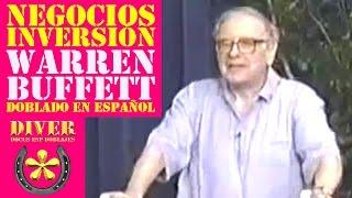Warren Buffett (Doblado en Español) Consejos sobre Inversión y negocios charla./ diverdocus doblajes