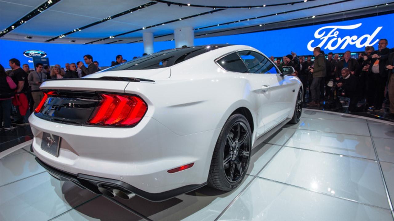 2018 V6 Ford Mustang