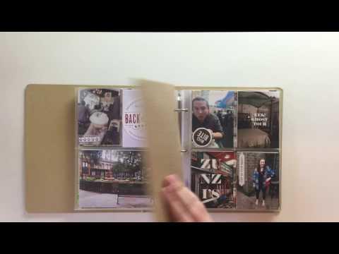 2016 Project Life Mini Travel Album // Savannah & The Georgia Coast