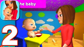 Virtual Mother Simulator Game - Happy Family Life Gameplay Walkthrough Part 2 || Level 8 to 15 ||