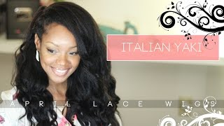 Italian Yaki Natural Hair Extensions April Lace Wigs Review Borderhammer Youtube
