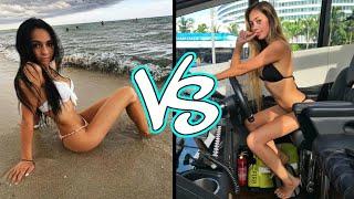 Ivanita Lomeli vs. Christina Kay (TIK TOK musical.ly battle)2