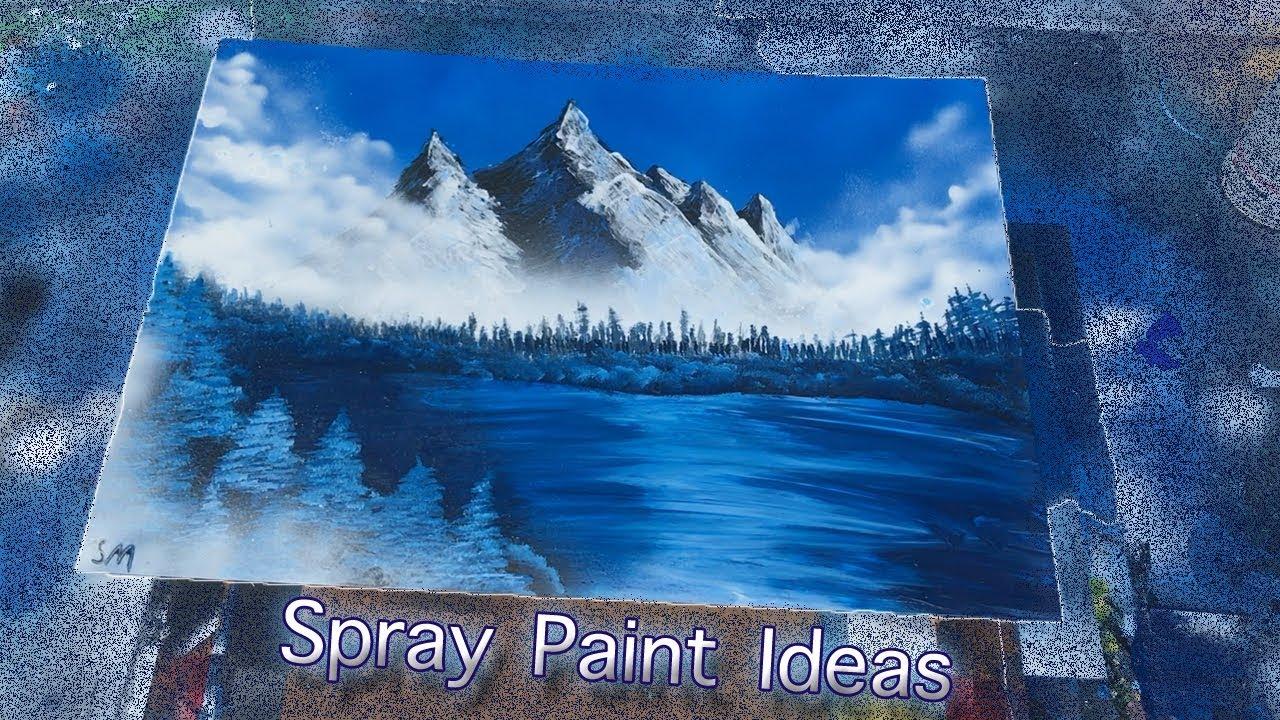 Spray Paint Art Ideas: 2017 - YouTube