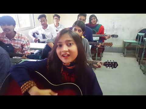 Dhana Dhanya Pushpa Bhora | Bafa Kamalapur branch Guitar Students.