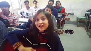 Dhana Dhanya Pushpa Bhora   Bafa Kamalapur branch Guitar Students.