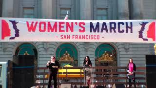 San Francisco Women's March - January 20, 2018 - 4K ♀️🇺🇲 thumbnail