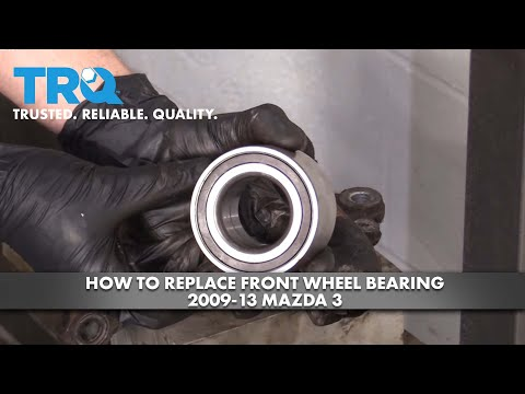 How to Replace Front Wheel Bearing 2009-13 Mazda 3