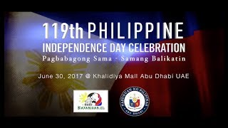 119th Philippine Independence Day Celebration Highlights