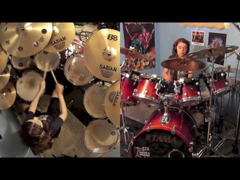 Run to the hills Maxim Roy Drum Cover