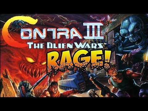 RETRO RAGE: Super Contra 3!