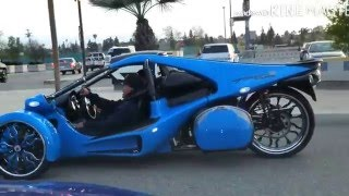 Crenshaw Takeover  Car burnout compilation T-rex motorcycle 🍩🍩🍩🍩🍩