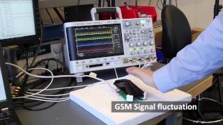 SideSwipe: Detecting In-air Gestures Around  Mobile Devices Using Actual GSM Signal