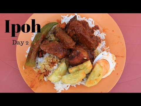 Ipoh Travel and Feast #27 - Memory Lane Market, Nasi Ganja, Snow Beer,  Wild Boar Meat and more!