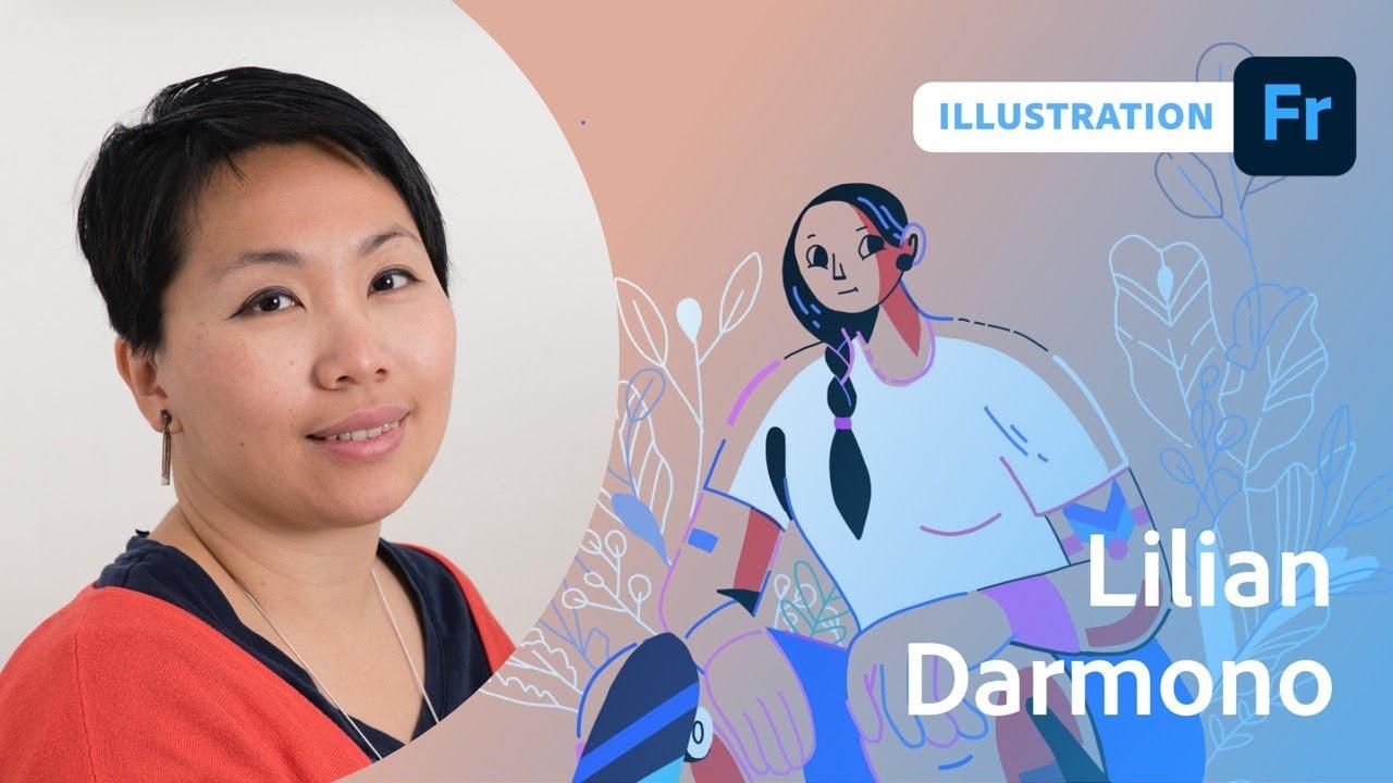 Illustration with Lilian Darmono - 1 of 2