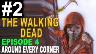 The Walking Dead: Episode 4 - Around Every Corner Walkthrough Part 2 (Let Kenny kill Zombie Kid?)
