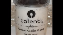 Talenti Gelato: Caramel Cookie Crunch Review