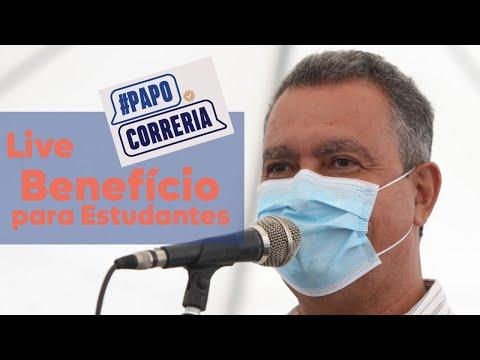 #PAPO_CORRERIA desta terça-feira (13) com o Governador da Bahia, Rui Costa