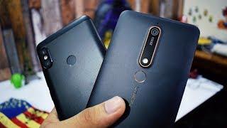 Nokia 6 2018 vs Redmi Note 5 Pro Camera Comparison!!!