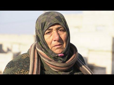 Сирийка из Идлиба просит защиты от бомбардировок Асада