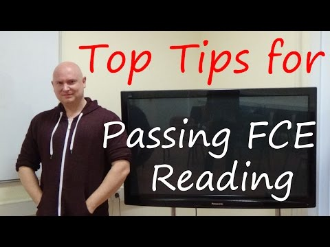 Top Tips for Passing FCE Reading / Practice English with Paul