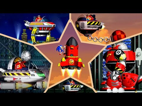All Bosses Of The Sonic The Hedgehog 4: Episode 1! Sonic Vs Eggman! Все боссы игры Соник 4 Эпизод 1.