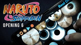 Naruto Shippuden Opening 6 | FLOW - Sign (Real Drum Cover)