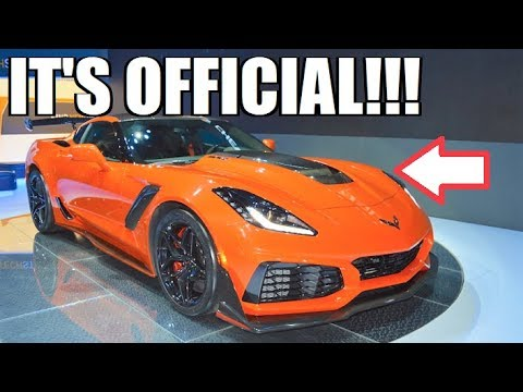 **ITS OFFICIAL** MY 2019 ZR1 IS ORDERED!!! Here's My ...