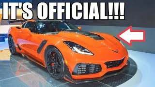**ITS OFFICIAL** MY 2019 ZR1 IS ORDERED!!! Here