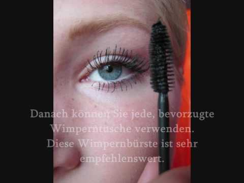 beste mascara wimperntusche wimpern collagen maske bunte zeitschrift youtube. Black Bedroom Furniture Sets. Home Design Ideas