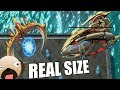 Real Size Protoss 10 Player FFA - Starcraft 2 Real Scale Mod Realistic