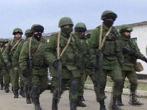 Russian soldiers in