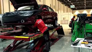 World Skills Asia 2019 Abu Dhabi #Automobile Tecnologi