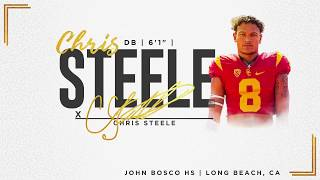 USC Football: Class of 2019 - DB Chris Steele
