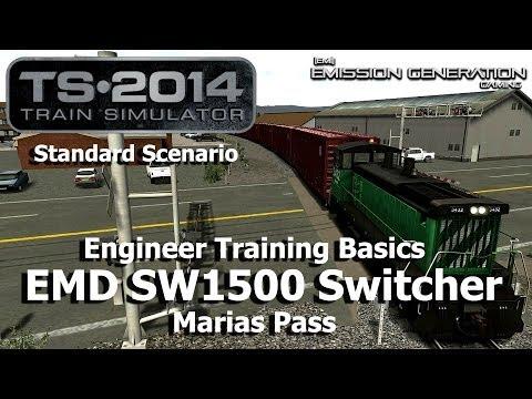 Engineer Training Basics - Standard Scenario - Train Simulator 2014