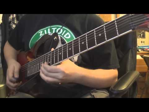 devin townsend project - deathray guitar cover
