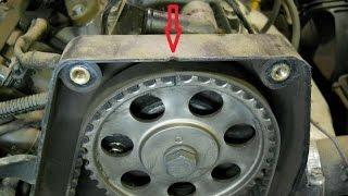 Как заменить ремень ГРМ Chevrolet Lanos 1.5l 8V