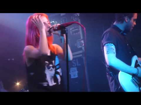 Paramore - Fences (HD) - The Garage - 05.04..13