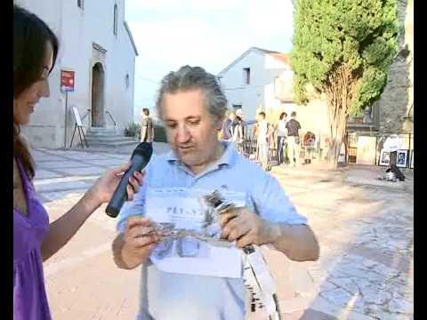 """Per la serie """"Giulia e le interviste impossibili"""": L'Uomo Carta a Borgarte @ Albanella"""