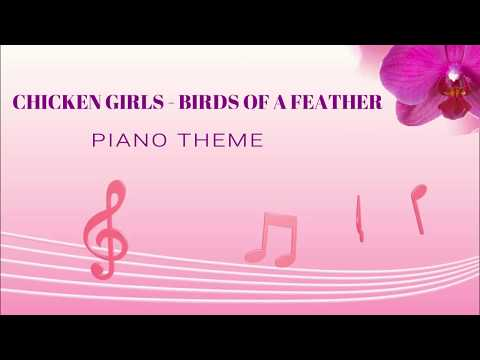 Chicken Girls Theme music  Instrumental cover (Reachharris)