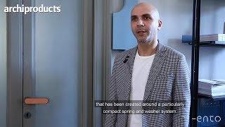 Archiproducts Milano 2019 | ENTO - Davide Diliberto presenta Robot e Contour