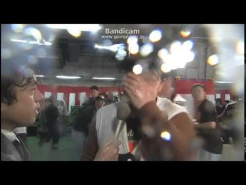 【しげしげ大王TV】われら巨人党 2014年セリーグ制覇!!ジャイアンツ優勝祝勝会!!!ビールかけ!!