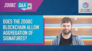 Community Q&A: Does ZooBC Blockchain Allow Aggregation of Signatures?